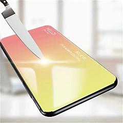 Недорогие Кейсы для iPhone X-Кейс для Назначение Apple iPhone XR / iPhone XS Max Зеркальная поверхность Кейс на заднюю панель Градиент цвета Твердый Закаленное стекло для iPhone XS / iPhone XR / iPhone XS Max