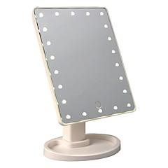 Недорогие Смарт-электроника-Factory OEM Touch Screen LED Makeup Mirror Интеллектуальные огни Спальня Беспроводное Сенсорный экран Портативные обожаемый Креатив Датчик для отслеживания активности