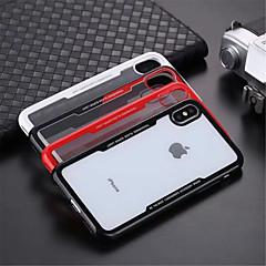 Недорогие Кейсы для iPhone 7 Plus-Кейс для Назначение Apple iPhone XR / iPhone XS Max Прозрачный Кейс на заднюю панель Однотонный Твердый Акрил для iPhone XS / iPhone XR / iPhone XS Max
