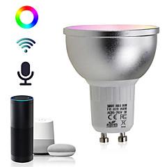 お買い得  LED 電球-BRELONG® 1個 5 W 460 lm GU10 LEDスマート電球 22 LEDビーズ SMD 5730 Smart / APPコントロール / 調光可能 RGBW 85-265 V