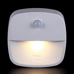 お買い得  LED アイデアライト-1個 LEDナイトライト 温白色 単3乾電池 クリエイティブ <5 V