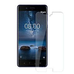 お買い得  Nokia 用スクリーンプロテクター-スクリーンプロテクター のために Nokia Nokia 8 強化ガラス 1枚 スクリーンプロテクター 硬度9H / 傷防止