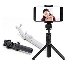 cheap Selfie Sticks-Original Xiaomi Foldable Tripod Selfie Stick Bluetooth Selfiestick With Wireless Shutter Selfie Stick For iPhone Android Xiaomi Global Version