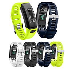Недорогие -Ремешок для часов для Vivosmart HR Garmin Спортивный ремешок силиконовый Повязка на запястье
