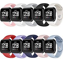Недорогие -ремешок для часов fitbit versa / fitbit versa lite fitbit современная пряжка / спортивный ремешок силиконовый ремешок на запястье