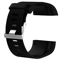 Недорогие -Ремешок для часов для Fitbit Surge Fitbit Спортивный ремешок силиконовый Повязка на запястье
