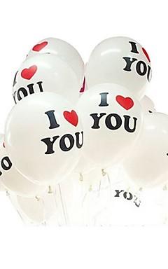 رخيصةأون -10 قطع بالونات اللاتكس الكرة زينة الزفاف بالون الخرز بالون الهواء بالون عيد بالون حفل زفاف