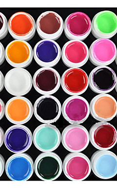 preiswerte -Nagellack UV Gel 8 ml 36 pcs UV-Farbgel / UV-Builder Gel / Klassisch Langlebige Aufsaugeigenschaften Alltag UV-Farbgel / UV-Builder Gel / Klassisch Schnelles Trocknung
