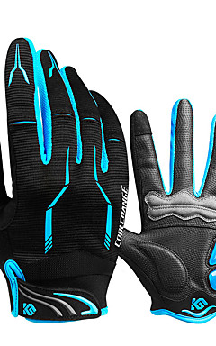 cheap -CoolChange Bike Gloves / Cycling Gloves Mountain Bike Gloves Breathable Anti-Slip Sweat-wicking Protective Sports Gloves Silicone Gel Terry Cloth Mountain Bike MTB Yellow Red Blue for Adults' Outdoor