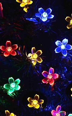 رخيصةأون -عطلة زينة رأس السنة / عيد الحب أضواء الكريسمس / عيد الميلاد الحلي ضوء LED / ديكور أرجواني / لوحة الألوان / أبيض دافئ 1PC