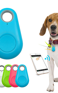 رخيصةأون -أطفال قط حيوانات أليفة GPS الياقات محافظ مكتشف للمفتاح مصغرة GPS بلوتوث Smart لون سادة بلاستيك أخضر أزرق زهري / لاسلكي / بلوتوث 4.0