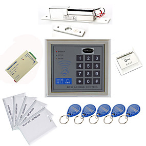 billige Access Control & Attendance Systems-Stand Alone access controller Kits (Electric Bolt, 10 EM-ID-kort, Power Supply)