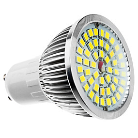 ieftine Spoturi LED-1 buc 6 W Spoturi LED 500-550 lm E14 GU10 GU5.3 48 LED-uri de margele SMD 2835 Alb Cald Alb Rece Alb Natural 110-240 V 85-265 V