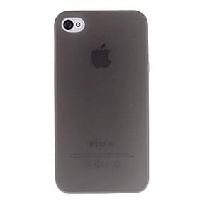 billige Daglige tilbud-Etui Til iPhone 4/4S / Apple Bagcover Blødt TPU for iPhone 4s / 4