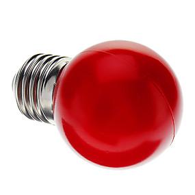 ieftine Becuri LED Glob-1 buc 0.5 W Bulb LED Glob E26 / E27 G45 7 LED-uri de margele Dip LED Decorativ Roșu 100-240 V / RoHs