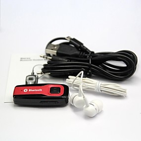 ieftine Gadget-uri USB-clip receptor audio Bluetooth A2DP stereo audio muzica receptor Bluetooth v4.0 w / 3.5mm / mini USB