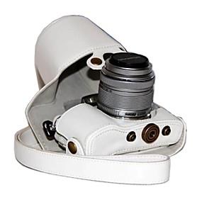 ieftine Gadgeturi de Laptop-dengpin® PU aparat de fotografiat din piele caz acoperire sac pentru stilou e-olympus PL7 epl7 cu 17mm sau lentile de 14-42mm