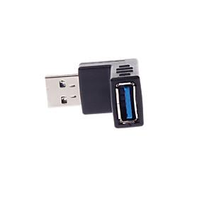 Χαμηλού Κόστους Αξεσουάρ Η/Υ & Tablet-USB 3.0 m / f δεξιά γωνία μετάδοσης υποδοχή βίντεο