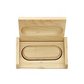 cheap Daily Deals-16GB usb flash drive usb disk USB 2.0 Wooden Gift box