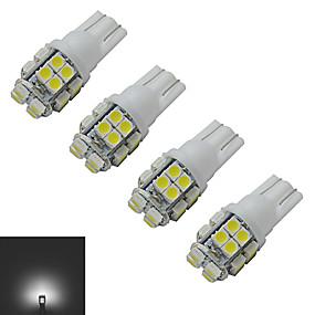 Недорогие Прочие светодиодные лампы-JIAWEN 4шт 1.5 W 85 lm 20 Светодиодные бусины SMD 3528 Холодный белый 12 V / 4 шт.