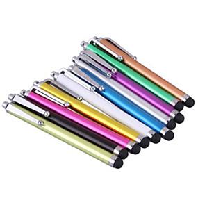 billige Vedhæng til mobiltelefoner-kinston® 10 x universel succes stylus berøringsskærm pen clip til iphone 8 7 Samsung Galaxy S8 s7 / ipad / Samsung