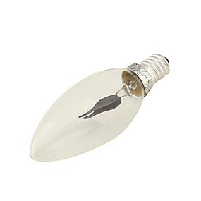 Χαμηλού Κόστους Λαμπτήρες LED με νήμα πυράκτωσης-YouOKLight 1pc LED Λάμπες Πυράκτωσης 150 lm E14 2 LED χάντρες Διακοσμητικό Κόκκινο 220-240 V / 1 τμχ / RoHs