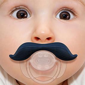 billige Barn i hjemmet-silikon spedbarn baby barn pacifier dummy bartete brystvorter skjegg nyfødt jente gutt