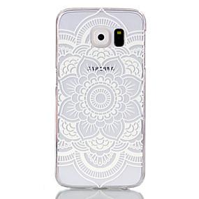 Недорогие Чехлы и кейсы для Galaxy S5 Mini-Кейс для Назначение SSamsung Galaxy S6 edge / S6 / S5 Mini Прозрачный Кейс на заднюю панель Мандала ПК