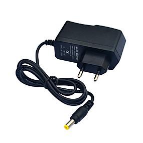 Недорогие Устройства электропитания-jiawen ac110 ~ 240v to dc12v 1a преобразователь трансформатора питания - черный (eu plug)