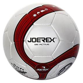 cheap Team Sports-Joerex Training Match Hand Sewn PU Soccer Durable Football Nondeformable Gas Leak-proof JMS004