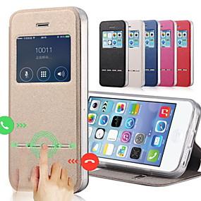 abordables Coques d'iPhone-de ji cas pour iphone xr xs xs max avec support / avec vitrines étuis uni en cuir dur coloré pour iphone x 8 8 plus 7 7plus 6s 6s plus se 5 5s