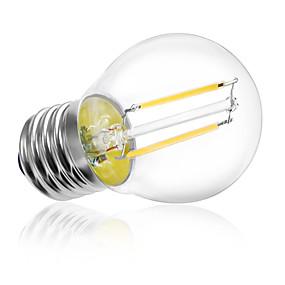 Χαμηλού Κόστους Λαμπτήρες LED με νήμα πυράκτωσης-HRY 1pc 2 W LED Λάμπες Πυράκτωσης 180 lm E26 / E27 A60(A19) 2 LED χάντρες LED Υψηλης Ισχύος Διακοσμητικό Θερμό Λευκό Ψυχρό Λευκό 220-240 V / 1 τμχ / RoHs / CCC