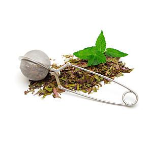 ieftine Bucătărie & Masă-ceai infuzor din oțel inoxidabil ceainic infuser ochiurilor de plasă sferă ceai ceai mâner sita mingii