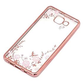 voordelige Galaxy J5 Hoesjes / covers-hoesje Voor Samsung Galaxy J7 / J5 (2016) / J5 Transparant Achterkant Bloem TPU