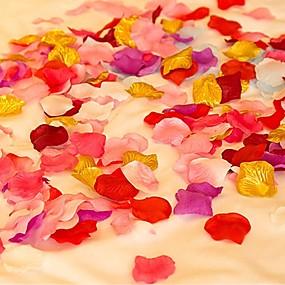 baratos Casa & Cozinha-Pétalas Cetim Decorações do casamento Casamento / Aniversário / Noivado Tema Jardim / Tema Asiático / Tema Flores Primavera / Verão / Outono