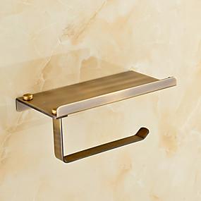 povoljno Gadgeti za kupaonicu-Držač toaletnog papira Starinski mesing 1 kom. - Hotel kupka