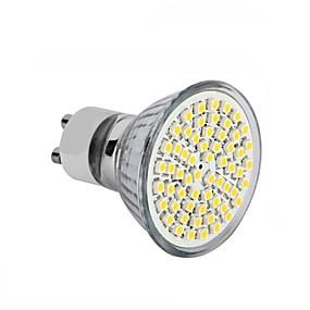 Недорогие Точечное LED освещение-4шт 3.5 W Точечное LED освещение 300-350 lm GU10 GU5.3(MR16) E26 / E27 MR16 60SMD Светодиодные бусины SMD 2835 Декоративная Тёплый белый Холодный белый 220-240 V 12 V 110-130 V / 1 шт. / RoHs