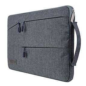 """billige GEARMAX-Ærmer Hylster / Etuier med rem til håndled. Ensfarvet / Forretning Tekstil for MacBook Pro 13-tommer / MacBook Air 11-tommer / MacBook Pro 13"""" med Retina display"""