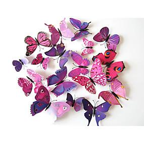billige Daglige tilbud-3D Veggklistremerker Animal Wall Stickers Dekorative Mur Klistermærker, Vinyl Hjem Dekor Veggoverføringsbilde Vegg