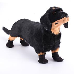 voordelige Honden Sieraden & Accessoires-Hond Schoenen & Laarzen Voor huisdieren Nylon Zwart