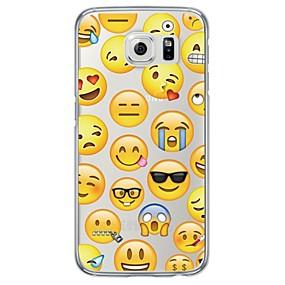 voordelige Galaxy S6 Edge Plus Hoesjes / covers-hoesje Voor Samsung Galaxy S7 edge / S7 / S6 edge plus Ultradun / Doorzichtig Achterkant Tegel Zacht TPU