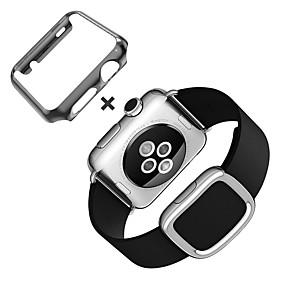 tanie HOCO-Watch Band na Apple Watch Series 4/3/2/1 Jabłko Nowoczesna klamra Prawdziwa skóra Opaska na nadgarstek