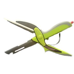 ieftine Ustensile Bucătărie & Gadget-uri-cuțit inteligent 6in1 tăiere hârtie foarfece chopper legatorie de legume