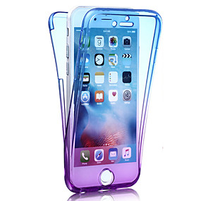 levne iPhone pouzdra-CaseMe Carcasă Pro Apple iPhone 8 / iPhone 8 Plus / iPhone 7 Nárazuvzdorné Celý kryt Zářící barvy Měkké TPU pro iPhone 8 Plus / iPhone 8 / iPhone 7 Plus