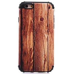 levne iPhone pouzdra-Carcasă Pro Apple iPhone 8 / iPhone 8 Plus / iPhone 7 Nárazuvzdorné / Vzor Zadní kryt Textura dřeva Pevné PC pro iPhone 8 Plus / iPhone 8 / iPhone 7 Plus