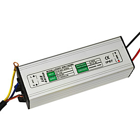cheap LED Drivers-JIAWEN 50W 1500mA Led Power Supply AC 85-265V Led Constant Current LED Driver Adapter Transformer  (DC 30-36V Output)