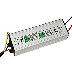 Недорогие Светодиодные драйверы-jiawen 50w 1500ma привело питание переменного тока 85-265v привело постоянного тока привело драйвер адаптер трансформатора (выход постоянного тока 30-36v)