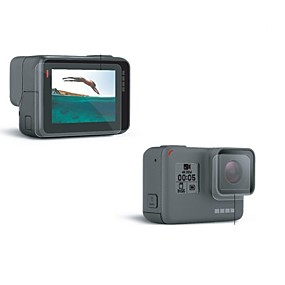 billige Sportskameraer og GoPro-tilbehør-Skærm Beskyttere Støv-sikker Til Action Kamera Gopro 6 Gopro 5 Universel