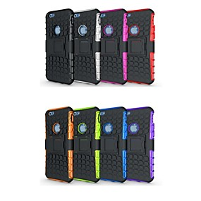 저렴한 오늘의 특가-케이스 제품 Apple 아이폰5케이스 충격방지 / 스탠드 뒷면 커버 갑옷 소프트 실리콘 용 iPhone 7 Plus / iPhone 7 / iPhone 6s Plus