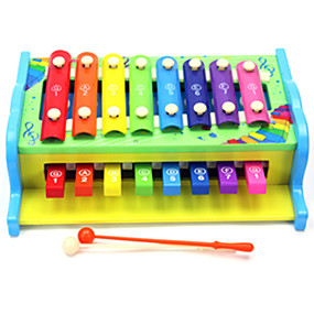 billige Pedagogiske leker-Xylofon Pedagogisk leke Moro Originale Tre 1 pcs Gutt Jente Leketøy Gave